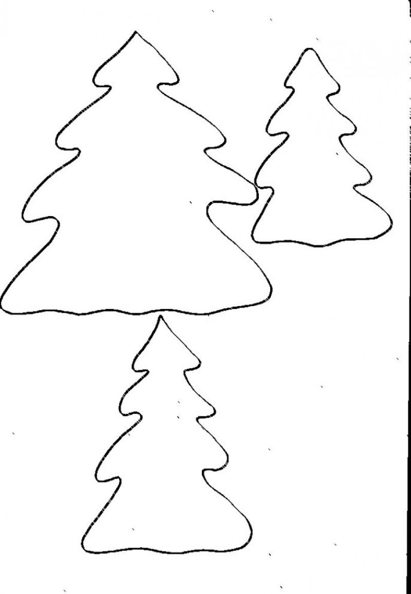 Imprimer Les Sapins Pour Calendrier De L'avent Ours concernant Gabarit Sapin De Noel A Imprimer