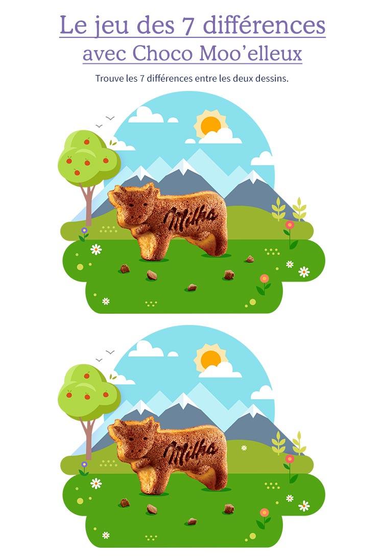 Imprimez Vite Votre Cahier De Jeux Milka® Biscuits ! serapportantà Jeu Des 7 Différences À Imprimer