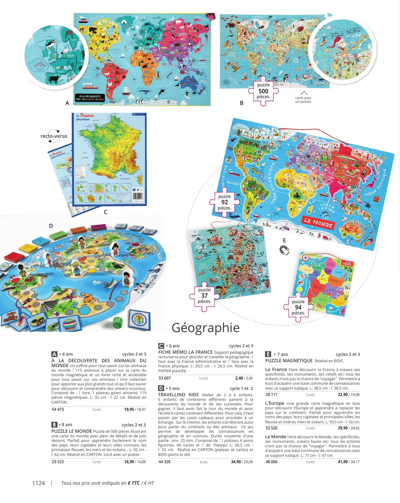 Index tout Carte De France Pour Les Enfants