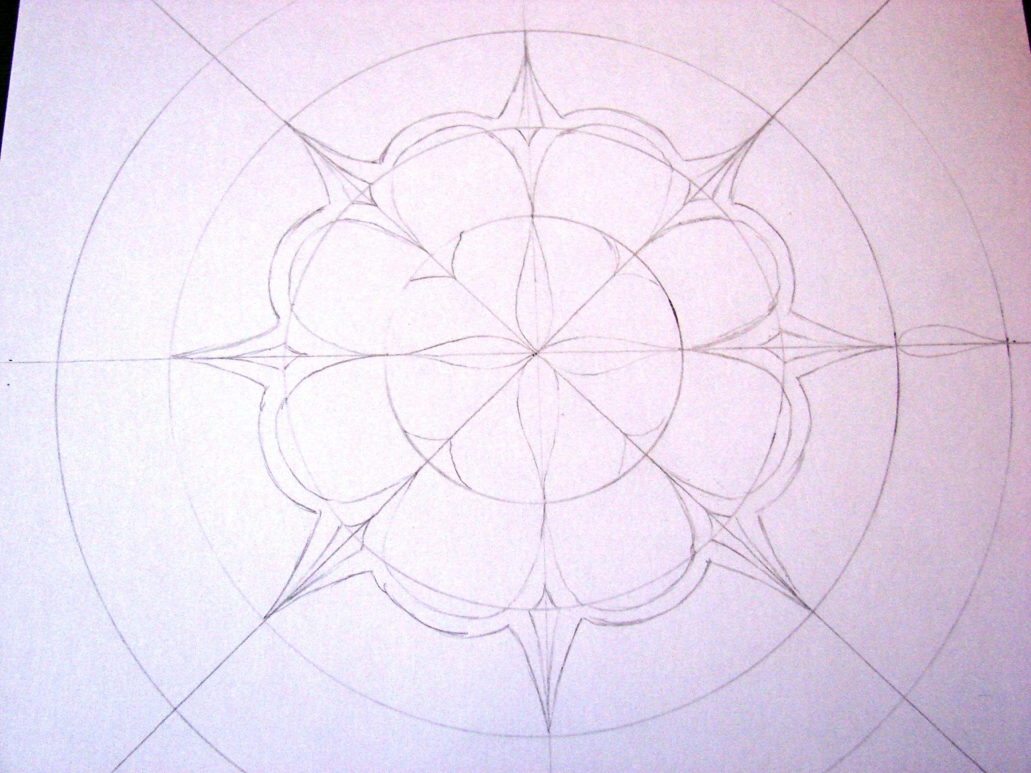 Initiation À La Création D'un Mandala. - Lucie Dans Le Ciel à Dessiner Un Mandala