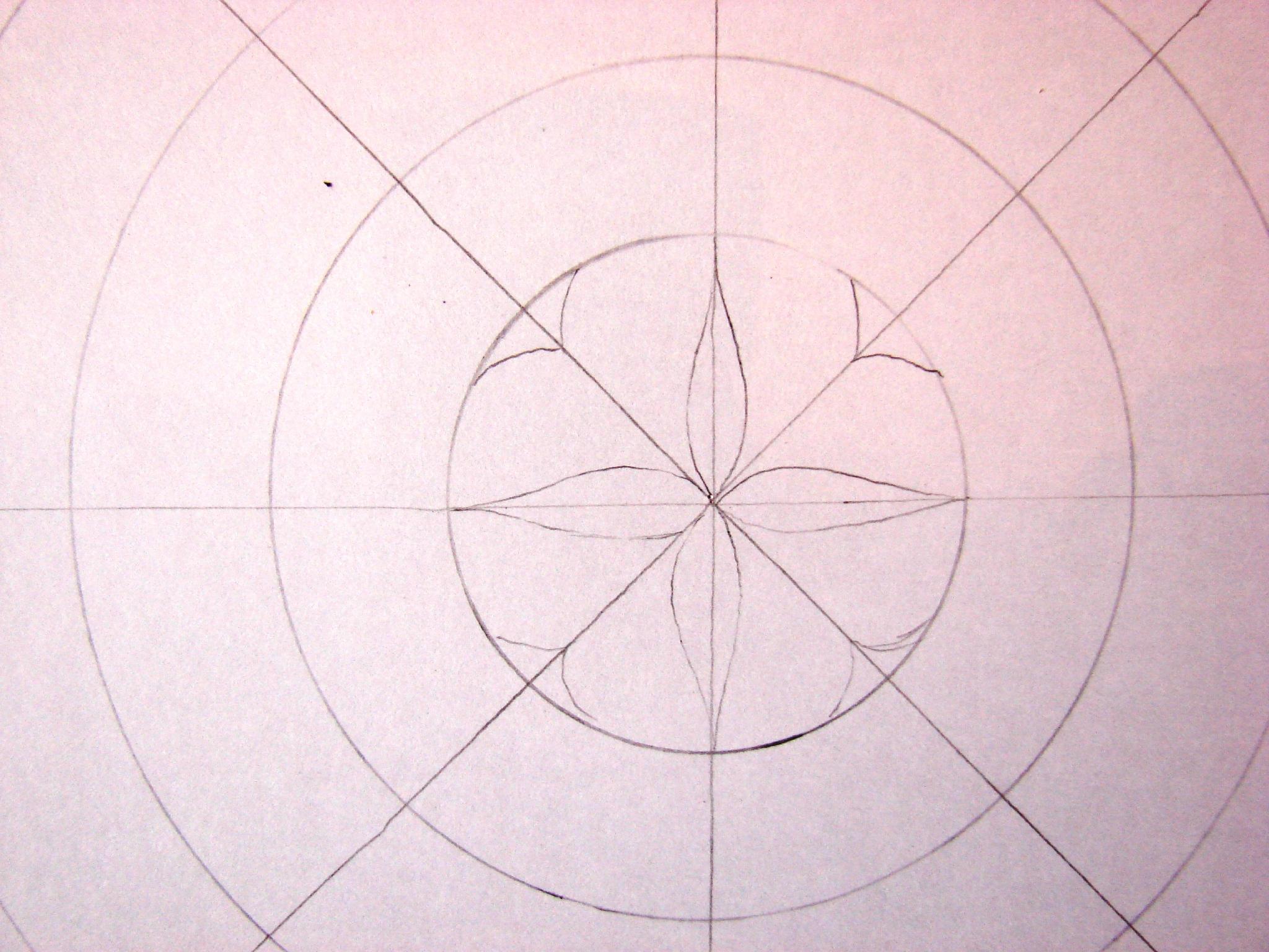 Initiation À La Création D'un Mandala. - Lucie Dans Le Ciel concernant Dessiner Un Mandala