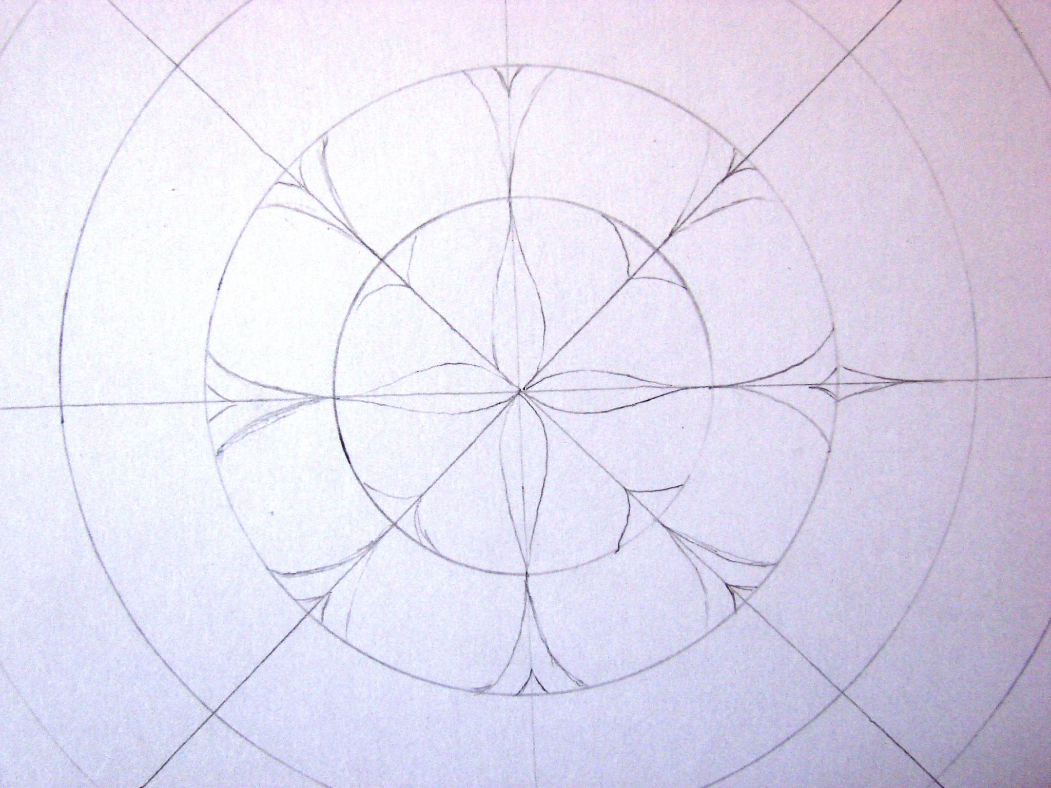 Initiation À La Création D'un Mandala. - Lucie Dans Le Ciel intérieur Dessiner Un Mandala