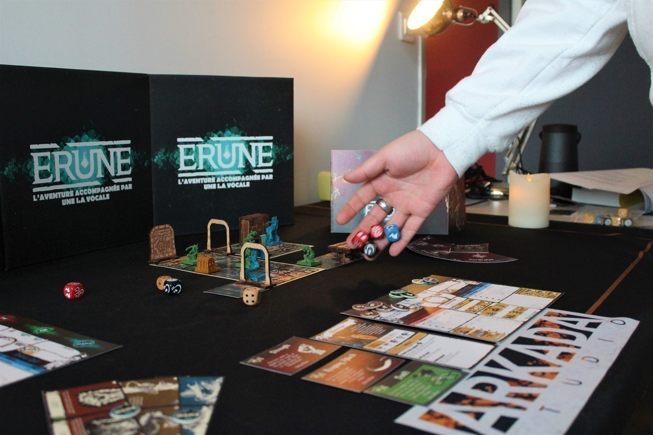 Insolite. Ils Créent Erune, À Rouen, Un Jeu De Plateau dedans Jeux De Intelligence De Fille