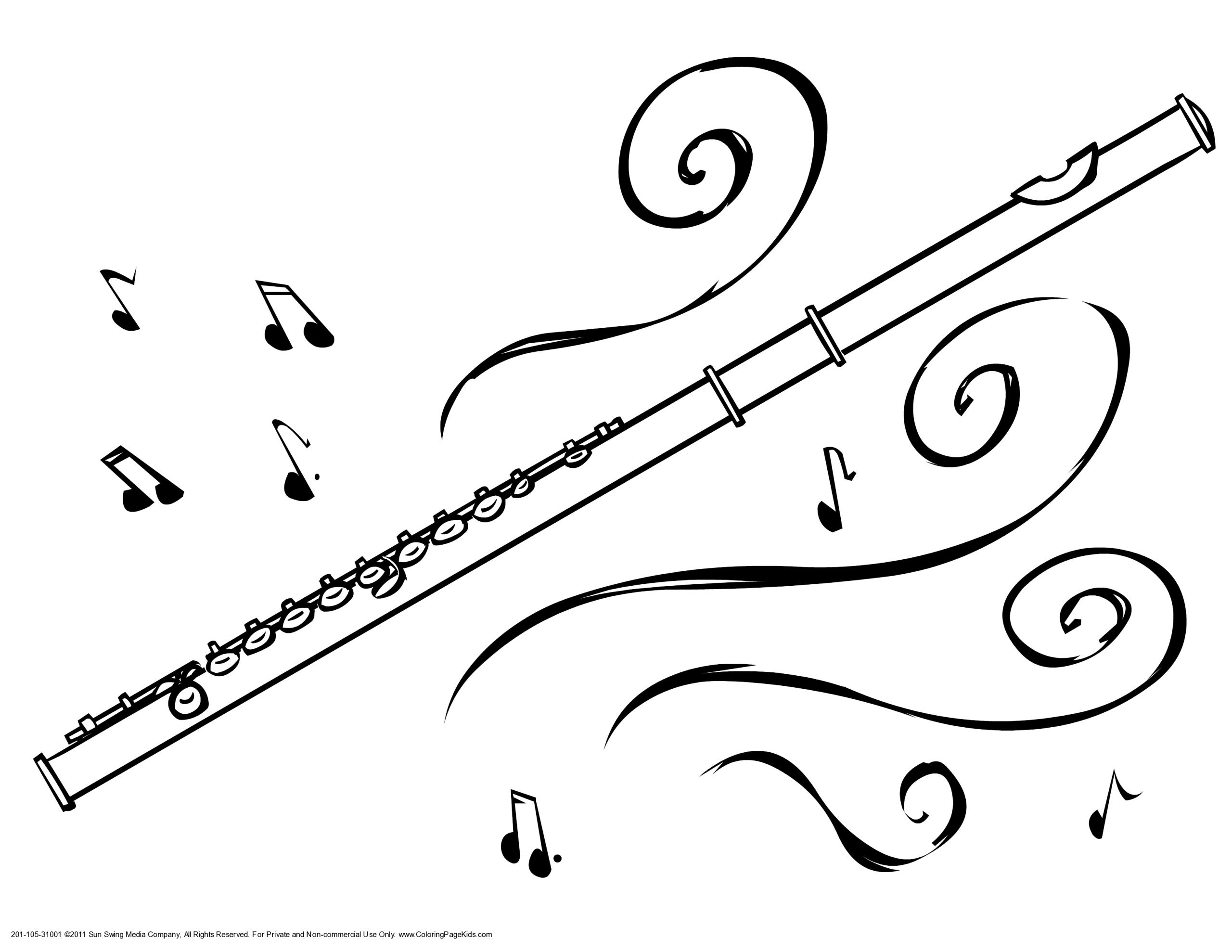 Instruments De Musique #192 (Objets) – Coloriages À Imprimer à Image Instrument De Musique À Imprimer
