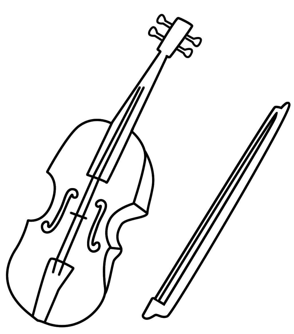 Instruments De Musique #207 (Objets) – Coloriages À Imprimer intérieur Image Instrument De Musique À Imprimer