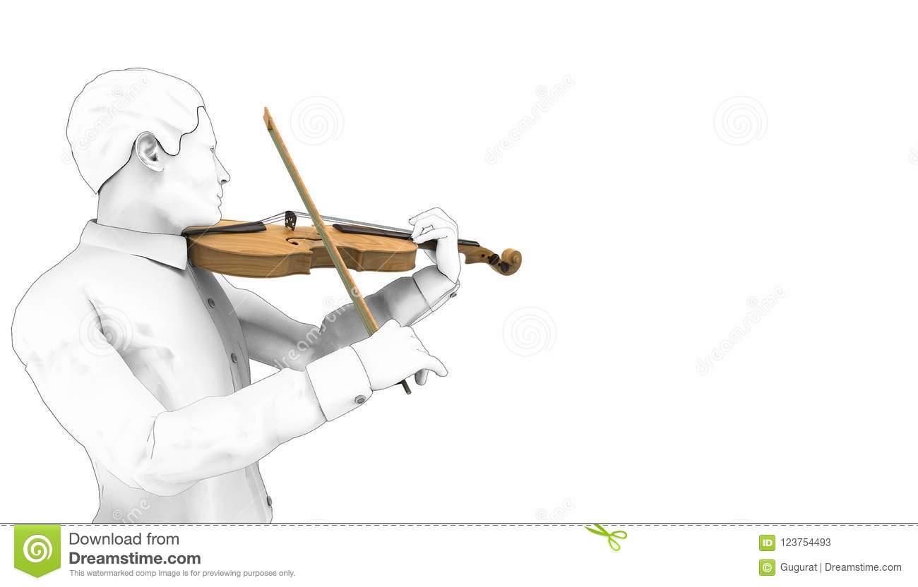 Instruments De Musique De Violon De Jeu De Dessin 03/fond D serapportantà Jeu Des Instruments De Musique