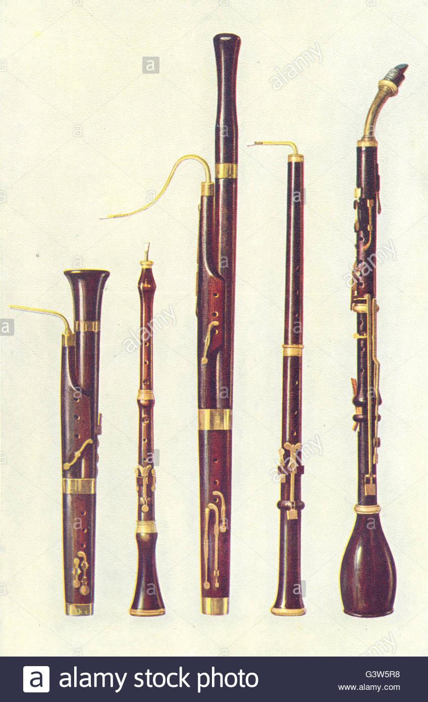 Instruments De Musique : Dolciano Hautbois Basson Da Caccia à Image Instrument De Musique À Imprimer
