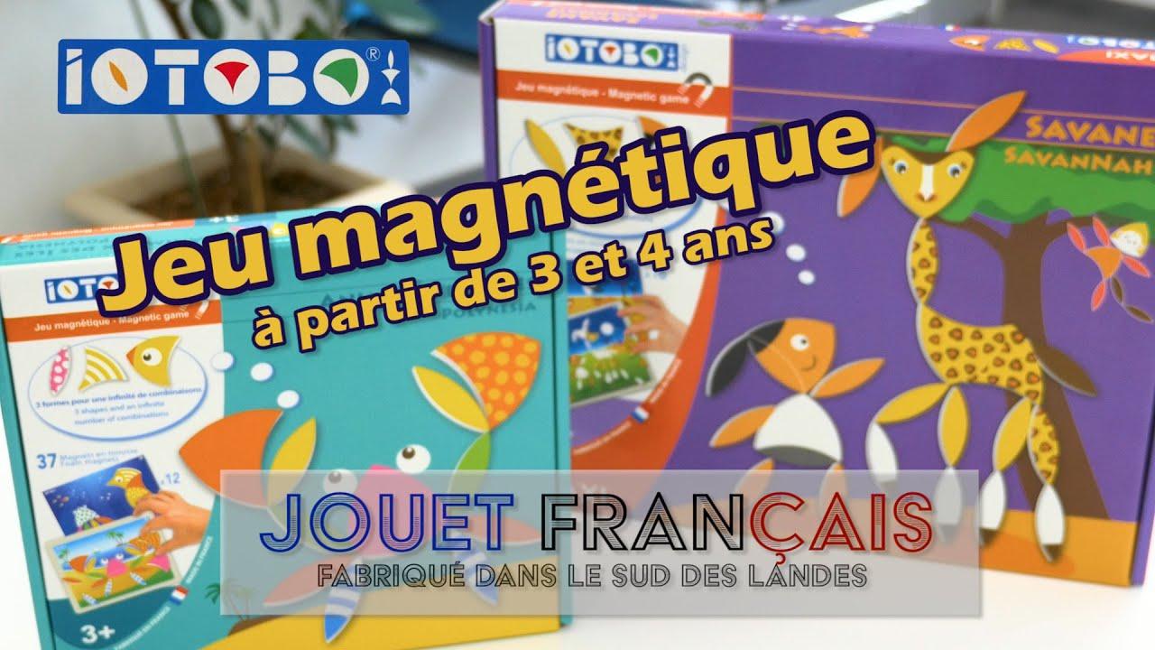 Iotobo Jeu Magnétique - Démo De 2 Jeux En Français pour Jeux De Savane