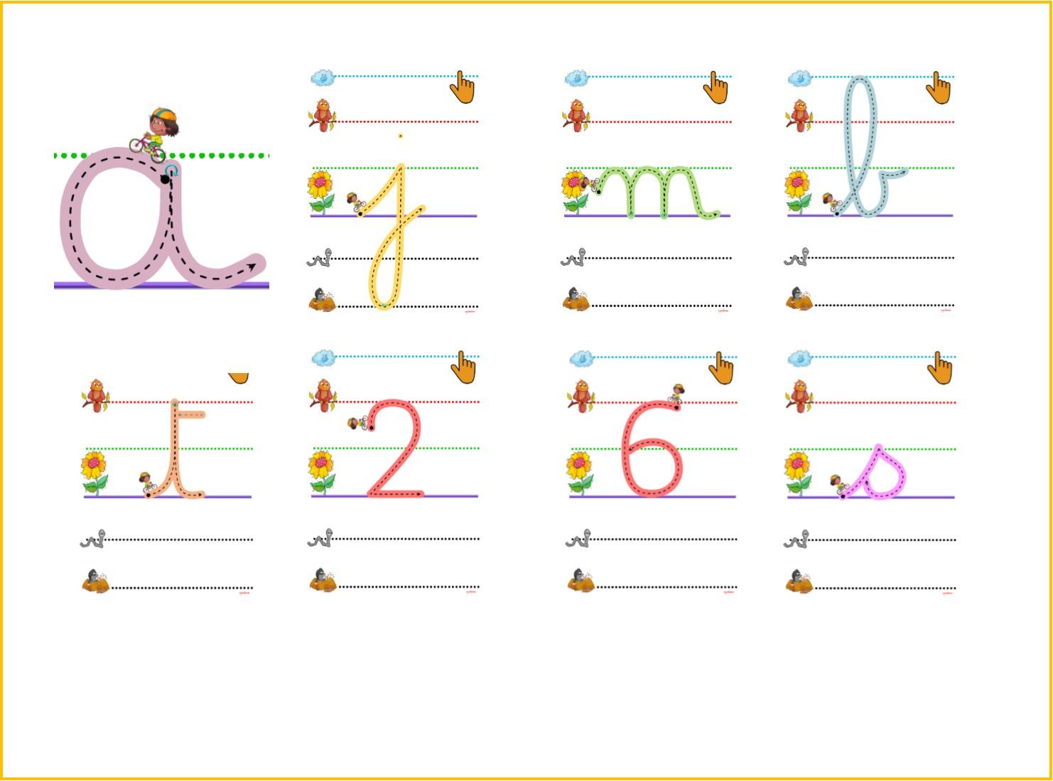 Ipotâme .tâme: Écriture Lettres De L'alphabet Et Chiffres Cp avec Apprendre À Tracer Les Chiffres