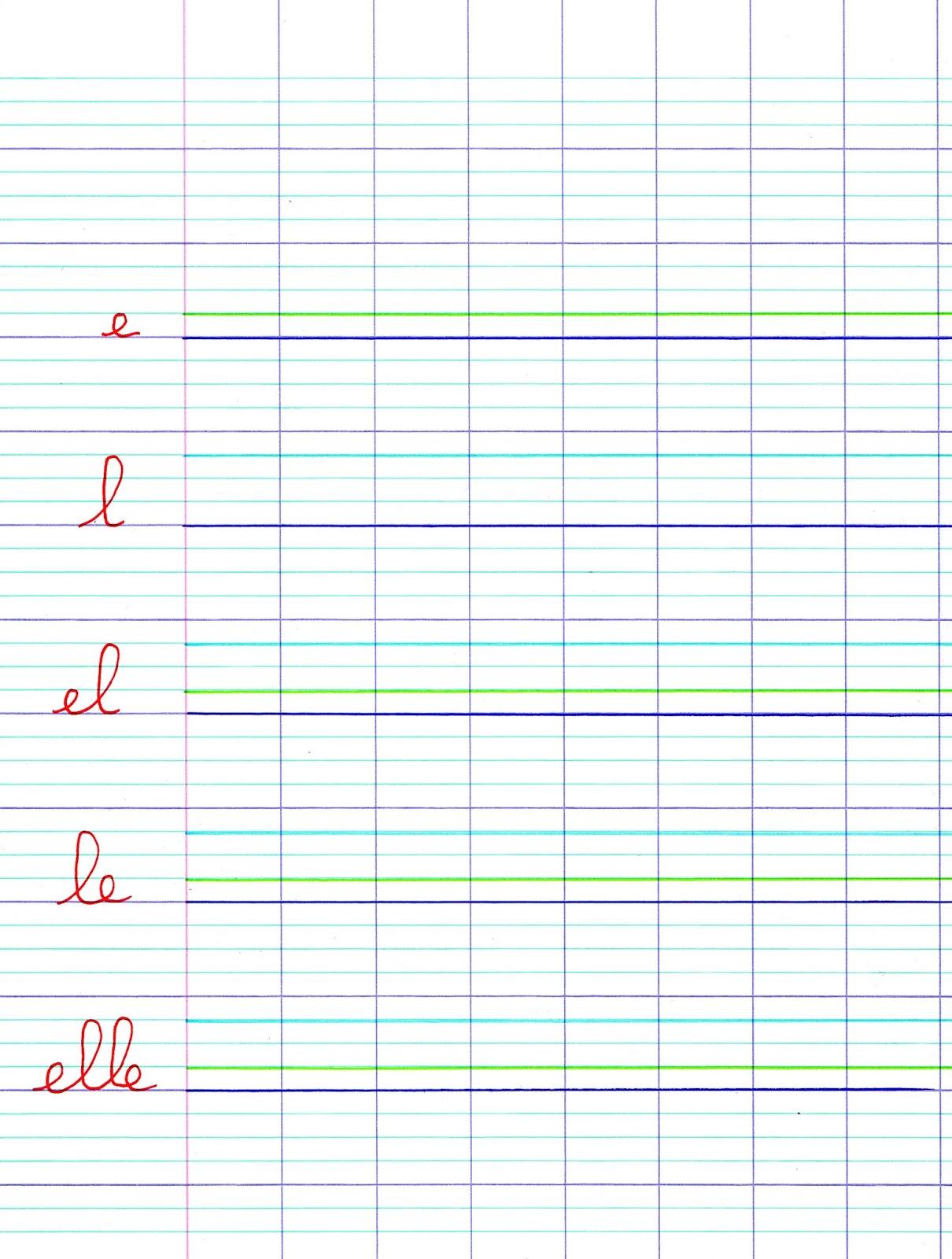 Ipotâme .tâme: Écriture Lettres De L'alphabet Et Chiffres Cp intérieur Cahier D Écriture Cp À Imprimer
