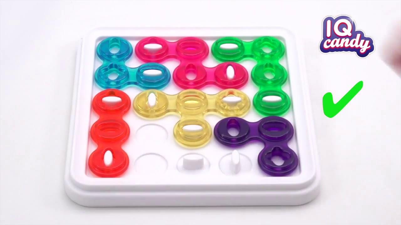 Iq Candy - Jeu De Logique Pour Enfant - Smartgames - Lapouleapois.fr pour Jeu Logique Enfant
