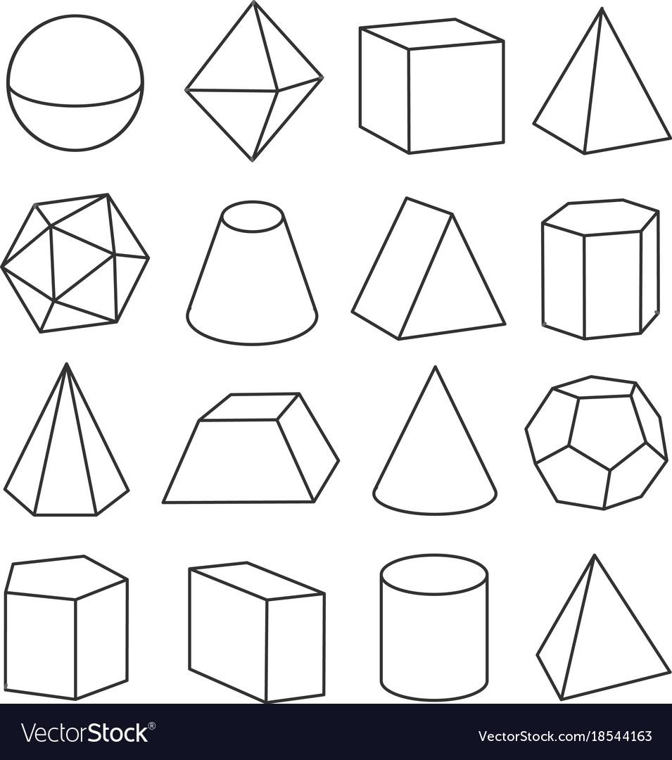 Isometric Geometric Figures avec Reproduire Une Figure