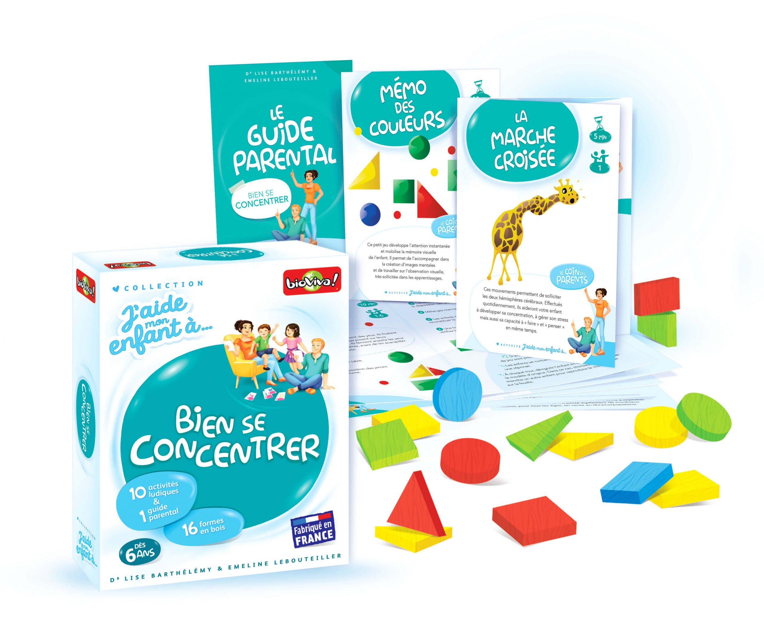 J'aide Mon Enfant À Bien Se Concentrer encequiconcerne Jeux Memoire Enfant