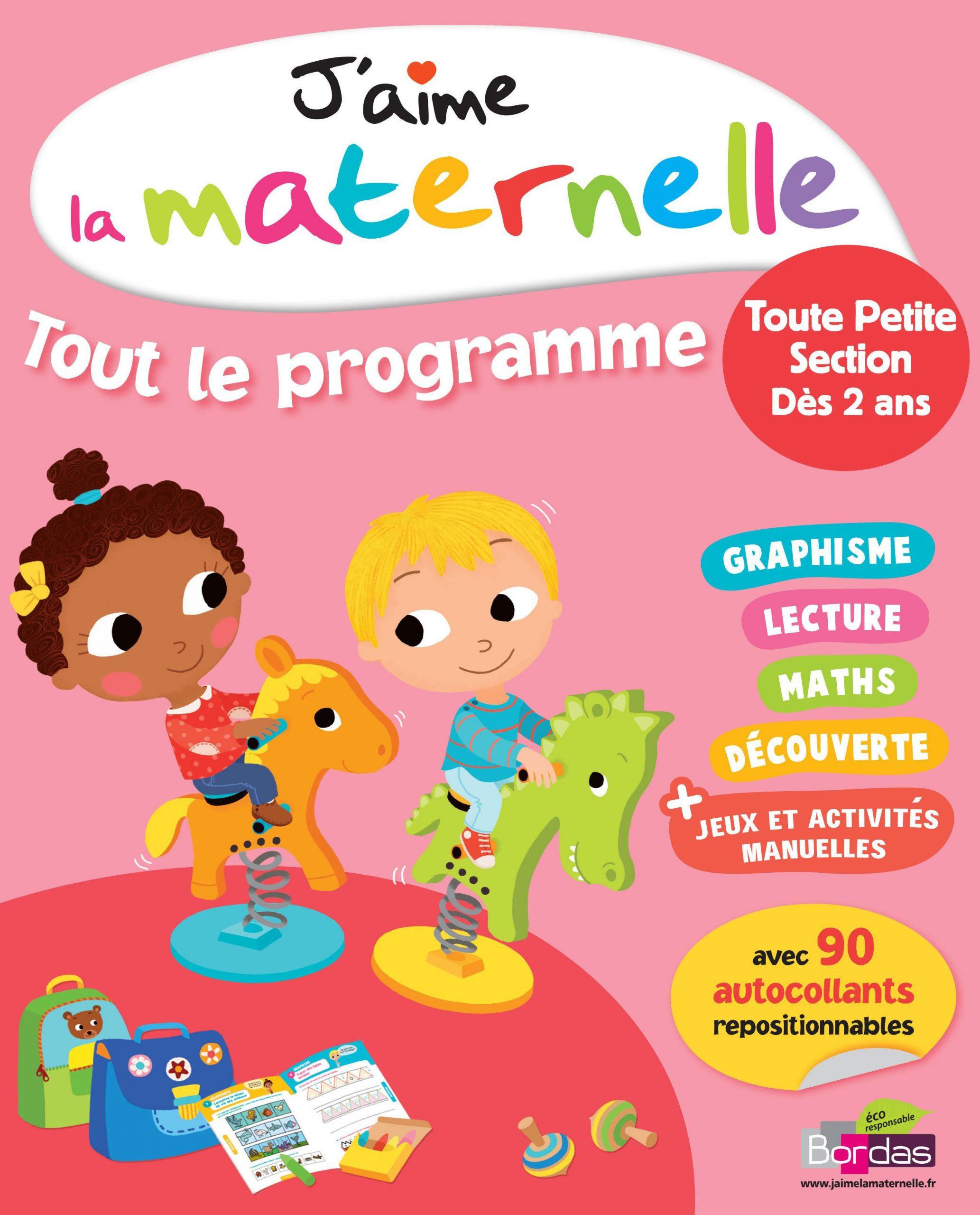 J'aime La Maternelle ; Tout Le Programme ; Toute Petite concernant Jeux Gratuit Maternelle Petite Section