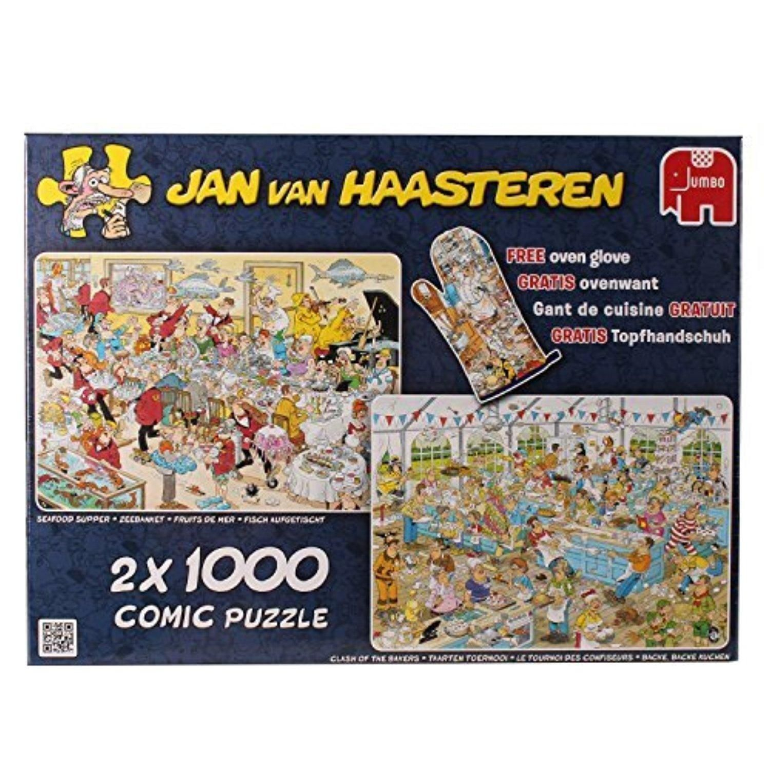Jan Van Haasteren Special Edition Food Frenzy Jigsaw Puzzle tout Puzzle Photo Gratuit