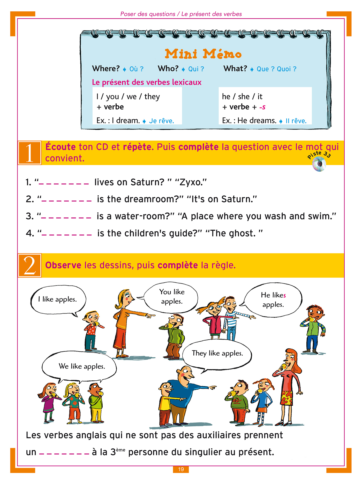 J'apprends L'anglais Avec Tommy Et Julie - Cm1 Et Cm2 concernant Exercice Cm1 Gratuit