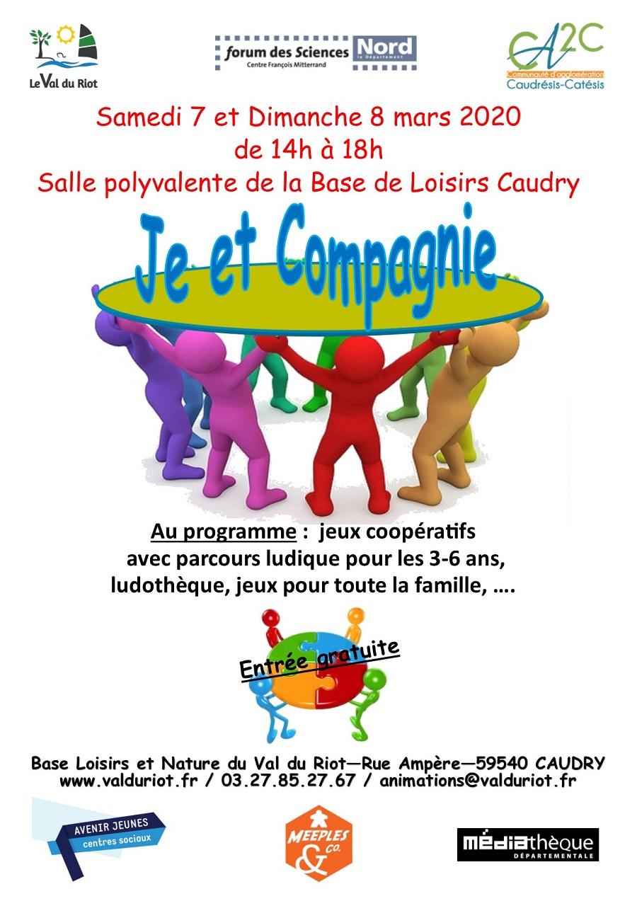 """Je Et Compagnie"""" : Jeux Coopératifs À Caudry pour Jeux De 6 Ans Gratuit"""