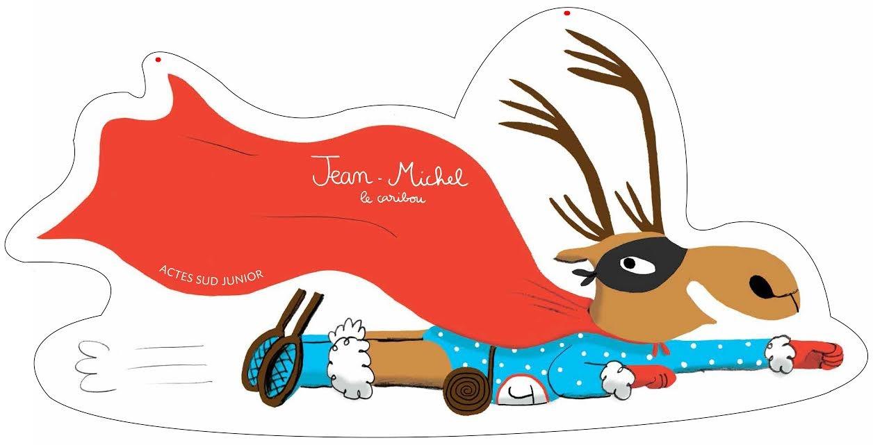 Jean-Michel Et Le Père Noël Au Bout Du Rouleau. Magali Le tout Caribou Dessin