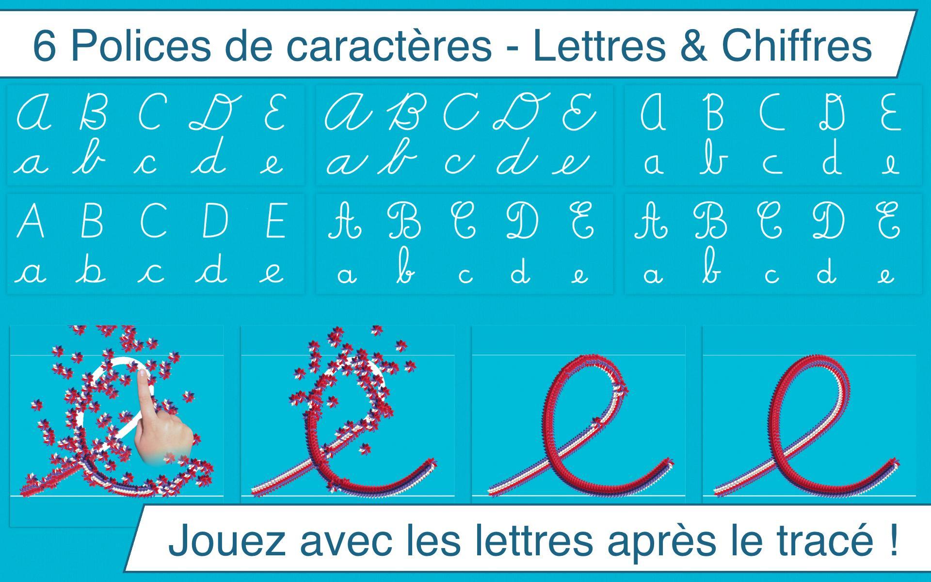 J'écris En Cursive Pour Android - Téléchargez L'apk avec Apprendre A Ecrire Les Lettres En Minuscule