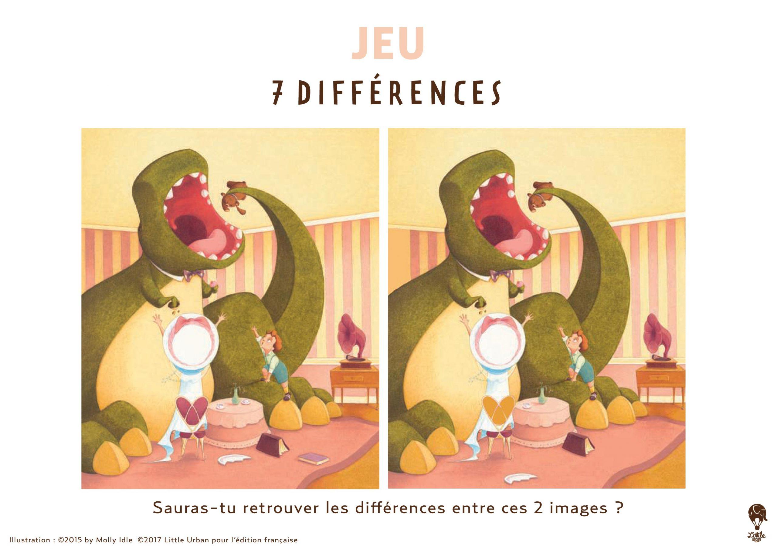 Jeu-7-Différences - Little Urban avec Jeux De Différence