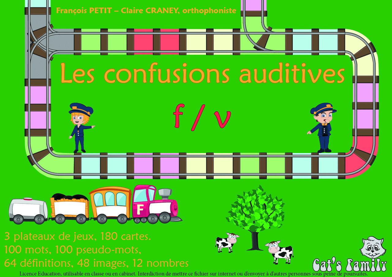 Jeu À Télécharger - Les Confusions Auditives F/v avec Jeux Éducatifs À Imprimer Collège