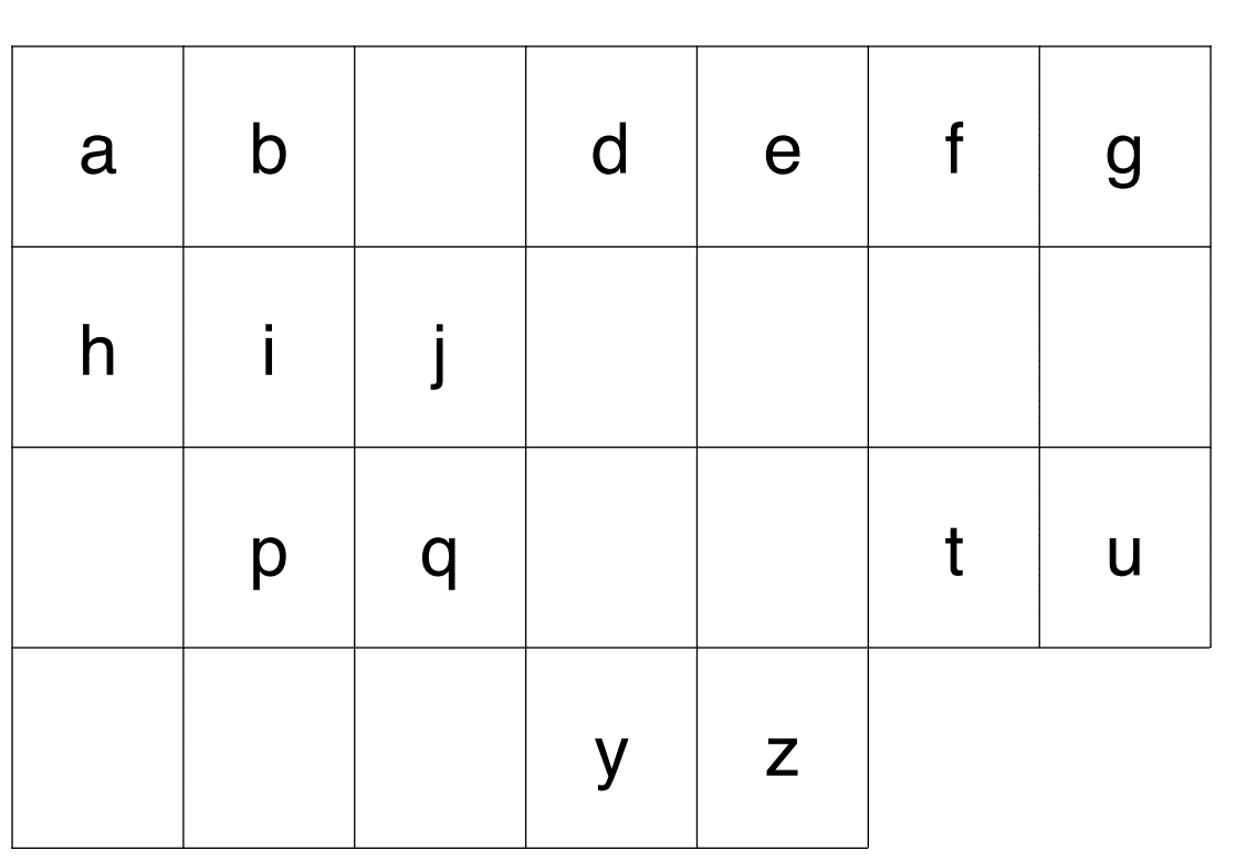 Jeu Alphabet : Lettres À Ordonner + Alphabet À Trous encequiconcerne Jeux Alphabet Maternelle Gratuit