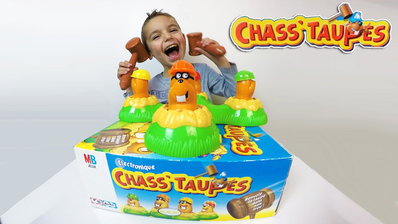 Jeu - Chass'taupes - Challenge - Test Jeux De Société tout Jeux De Taupe