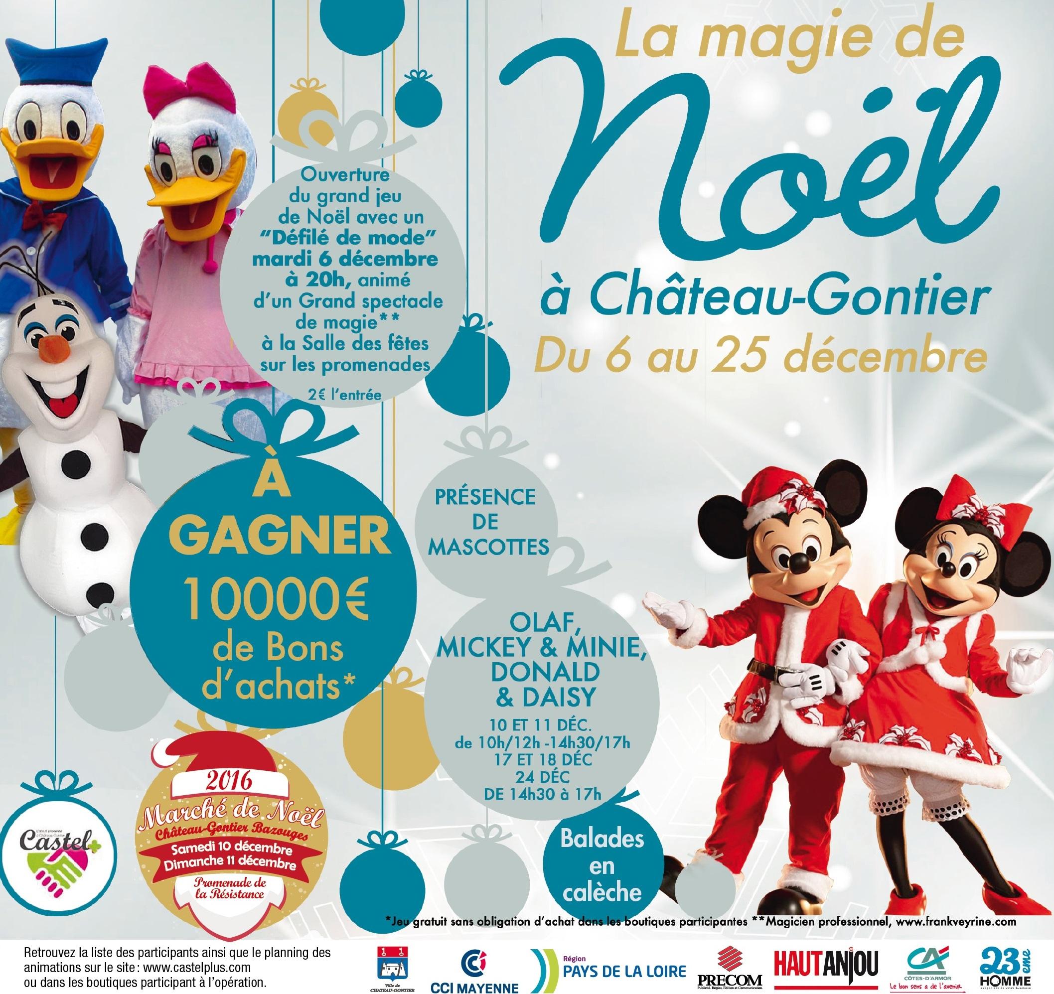 Jeu Concours Noël 2016 - Castel Plus avec Jeux De Grand Gratuit