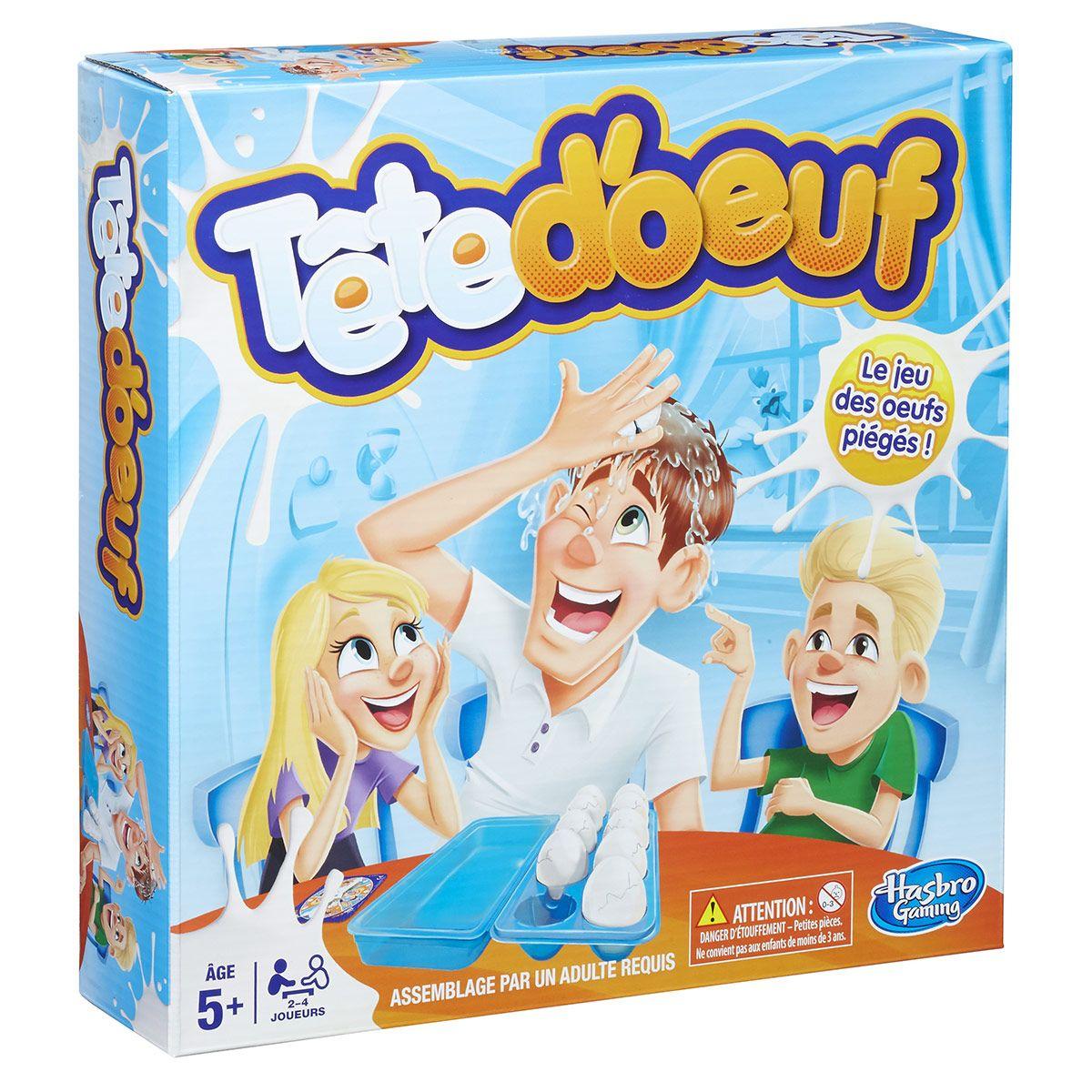 Jeu D'action Tête D'œuf - Jeux De Société Et Puzzles - La intérieur Jeux Video Enfant 5 Ans