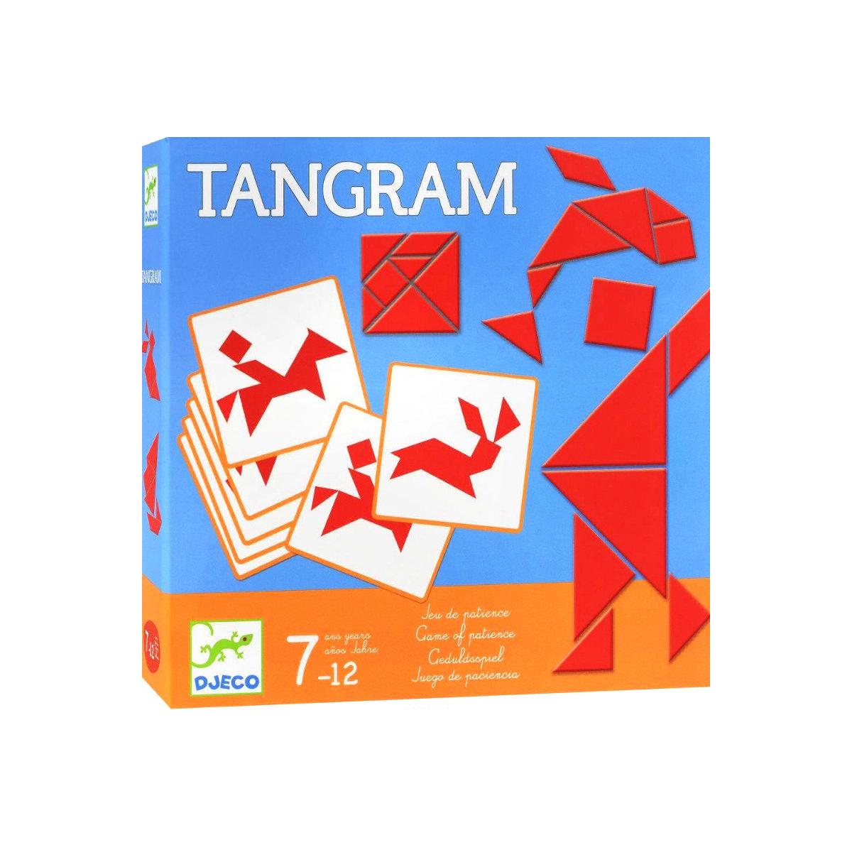 Jeu D'adresse 'tangram' - À Partir De 7 Ans concernant Tangram Enfant
