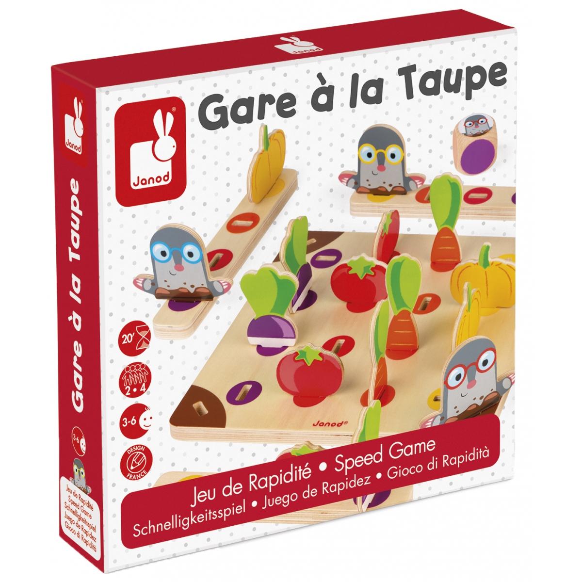 Jeu D'association 'gare A La Taupe!' - À Partir De 3 Ans à Jeux De Taupe