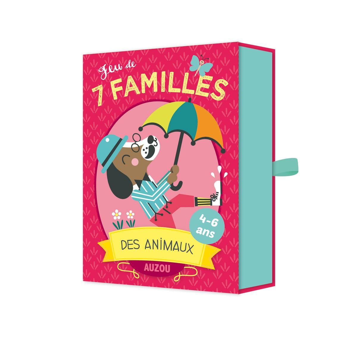Jeu De 7 Familles Des Animaux pour Jeux Enfant 7 Ans