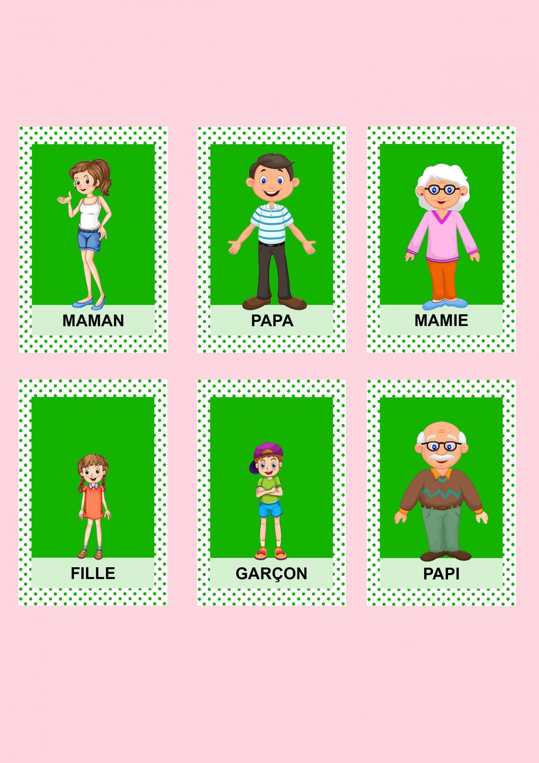 Jeu De 7 Familles - Les Activités De Maman destiné Jeux De Grand Garçon