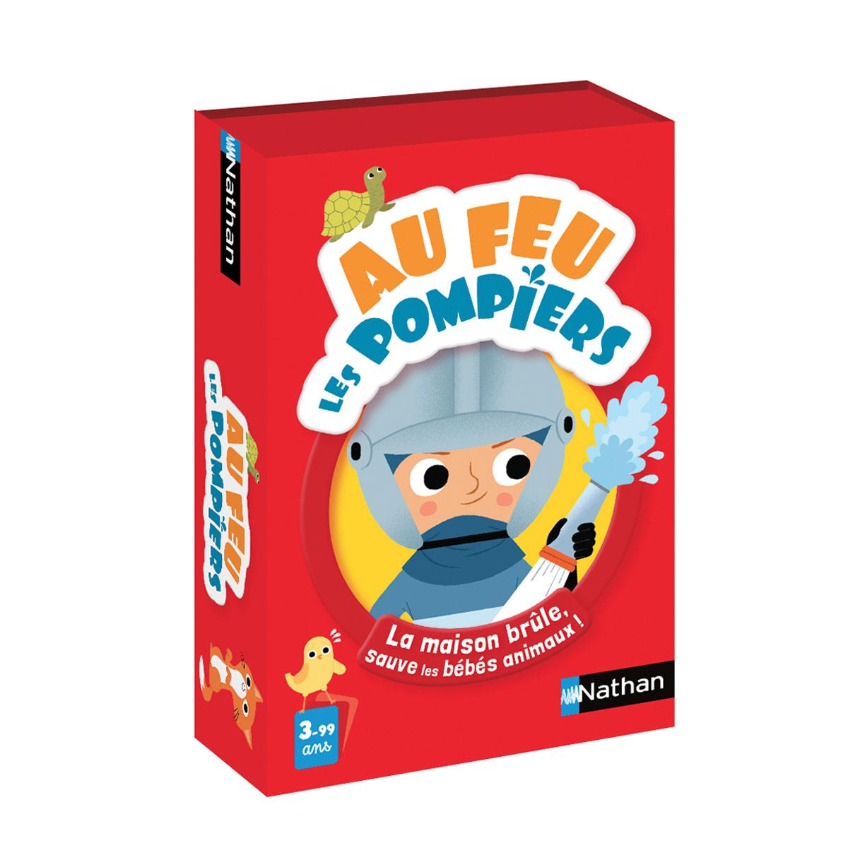 Jeu De Cartes Au Feu Les Pompiers serapportantà Jeux Enfant De 3 Ans