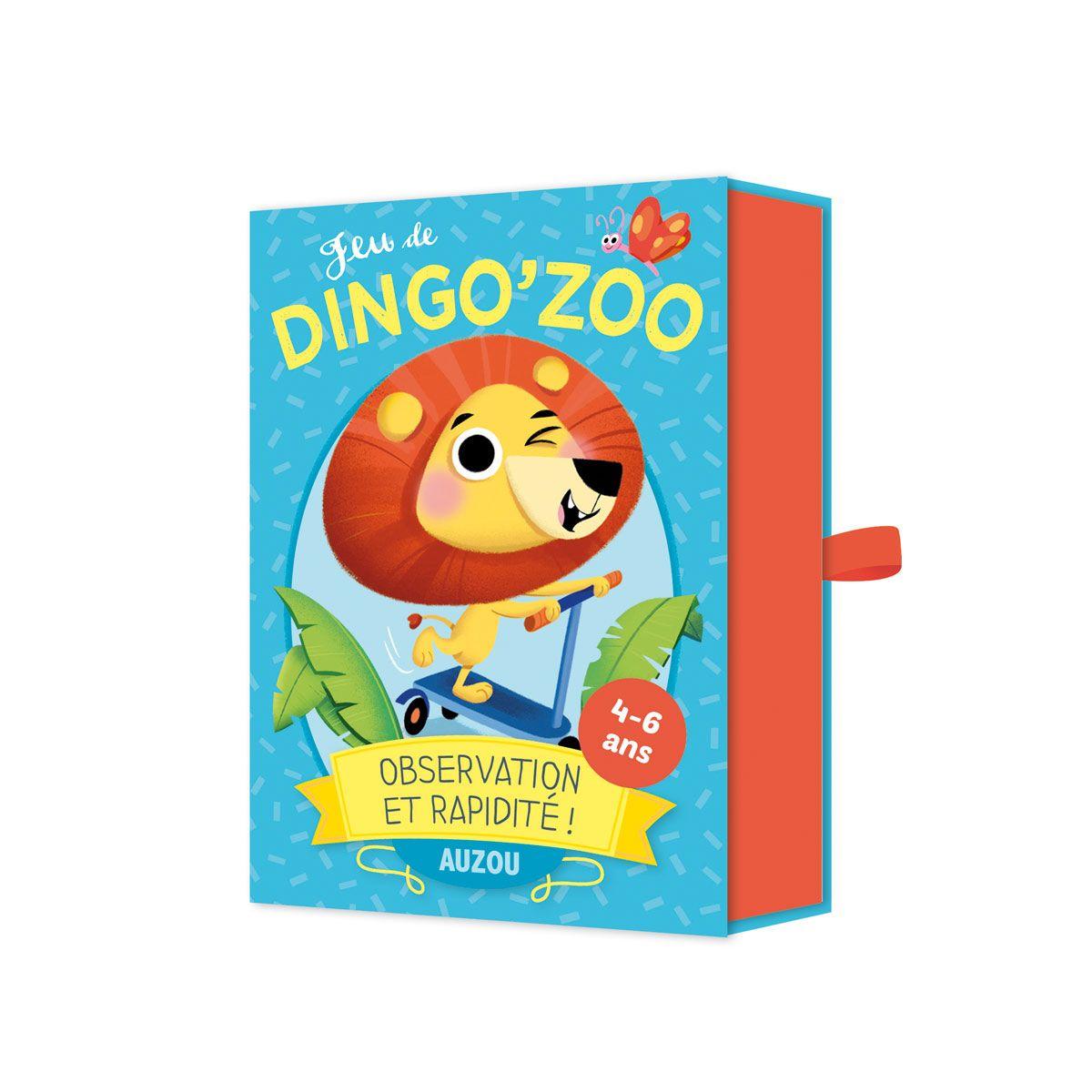 Jeu De Cartes Dingo'zoo Pour Enfant De 4 Ans À 6 Ans à Jeux Gratuit Pour Fille De 6 Ans