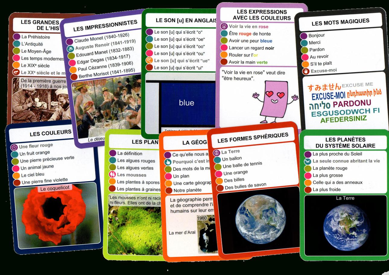 Jeu De Cartes Educatif - Socartes Sélection 1 à Jeux Educatif Ce1