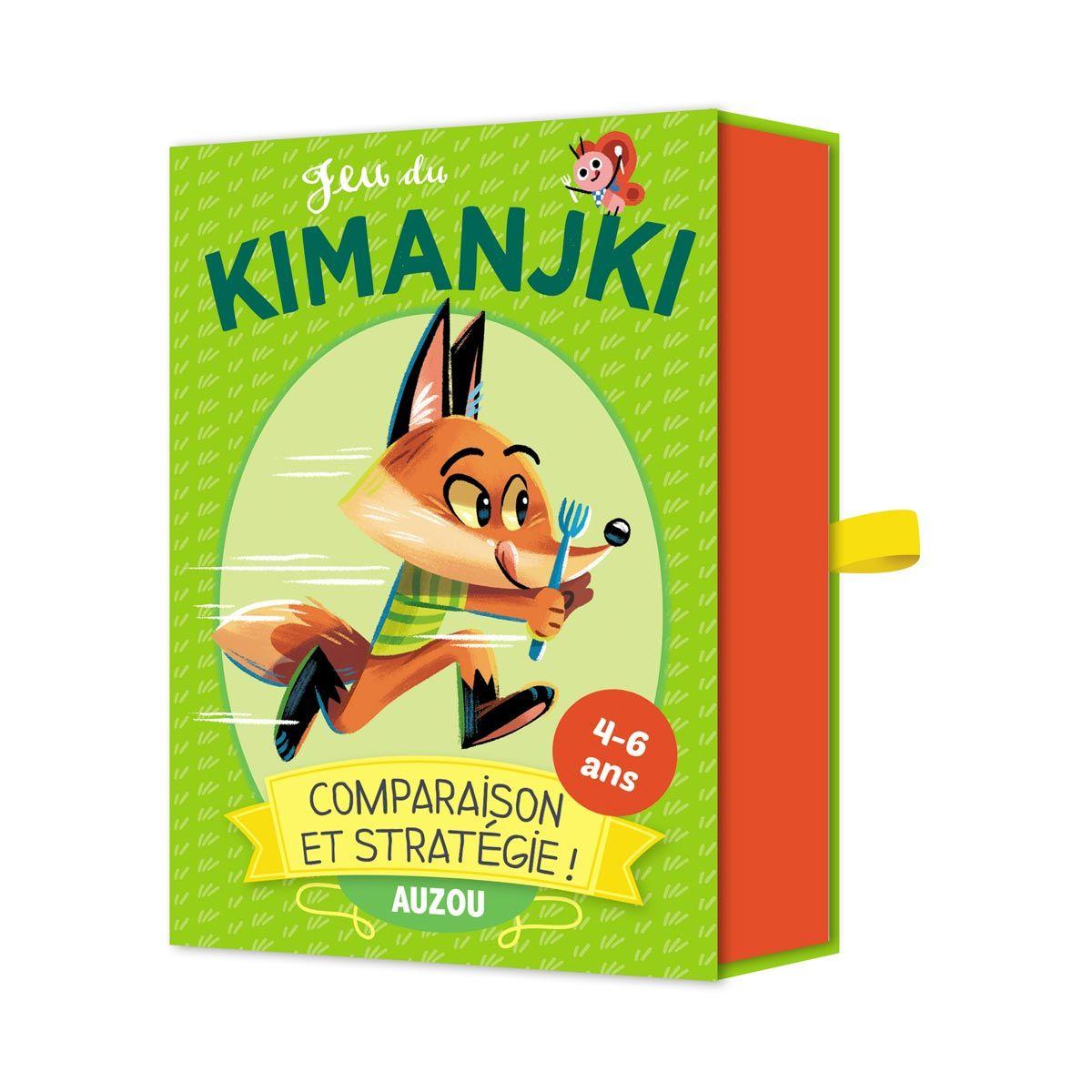Jeu De Cartes Kimanjki Pour Enfant De 4 Ans À 6 Ans - Oxybul à Jeux Pour Enfant De 4 Ans