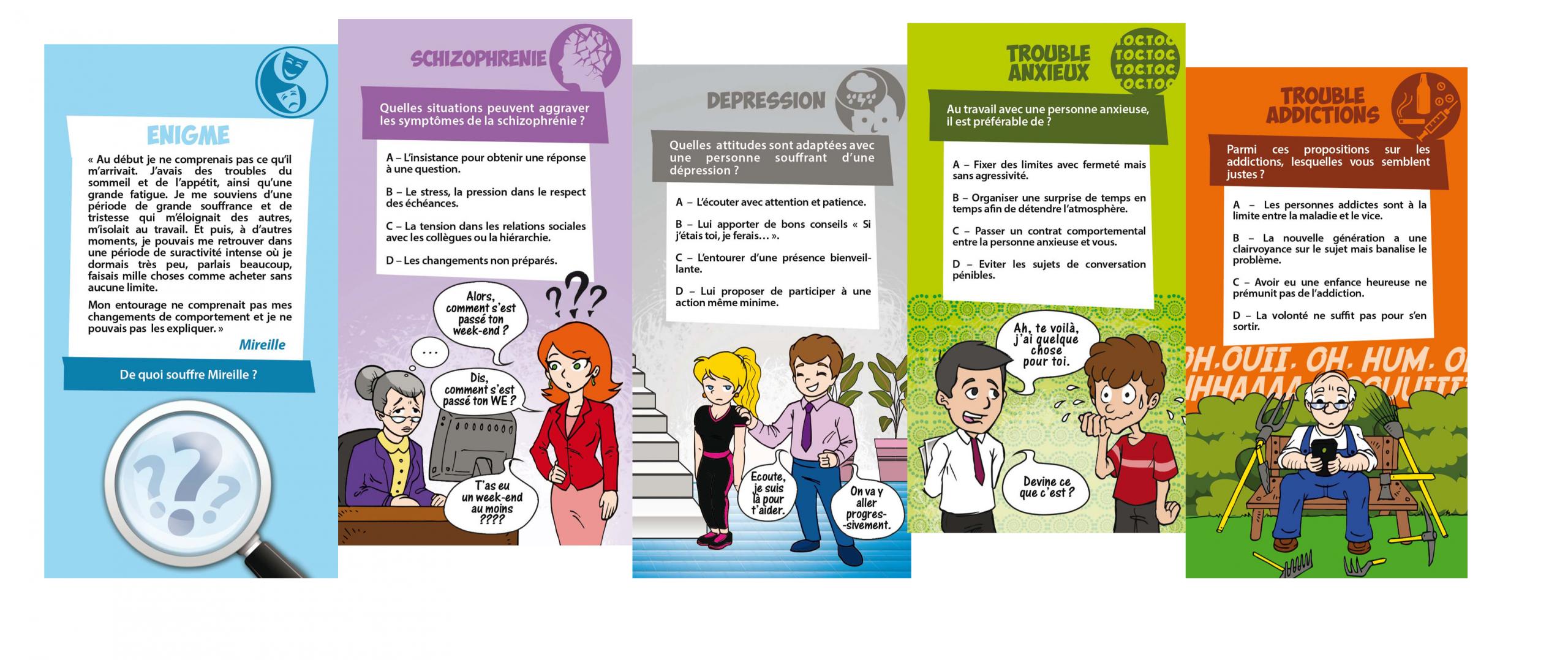Jeu De Cartes Les Handipsys concernant Jeux De La Différence