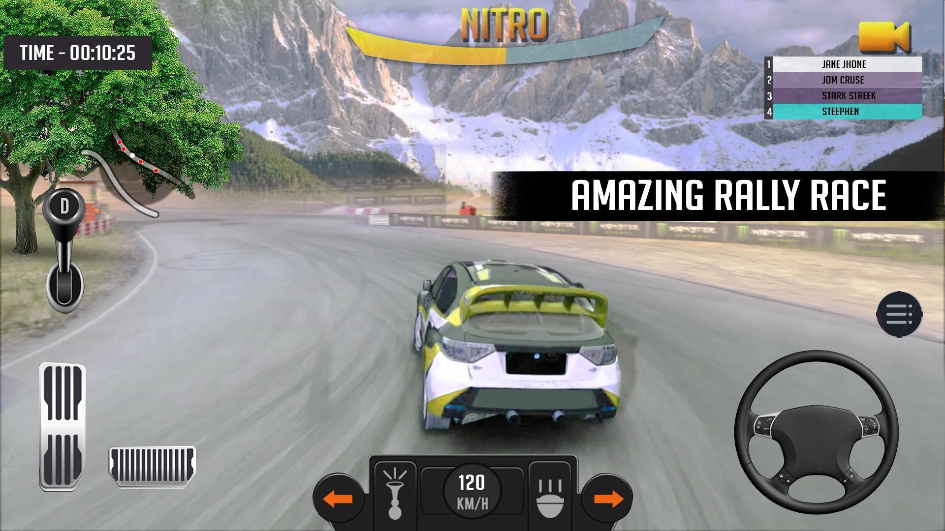 Jeu De Course De Voitures Extrême: Rally Fury 3D Pour à Jeux De Cours De Voiture