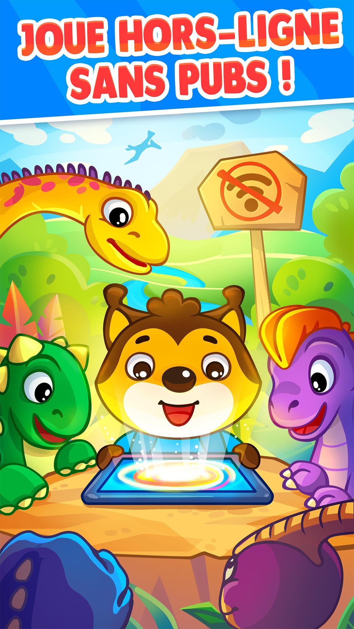 Jeu De Dinosaures Pour Tout-Petits Bébés Pour Android dedans Jeux En Ligne Tout Petit