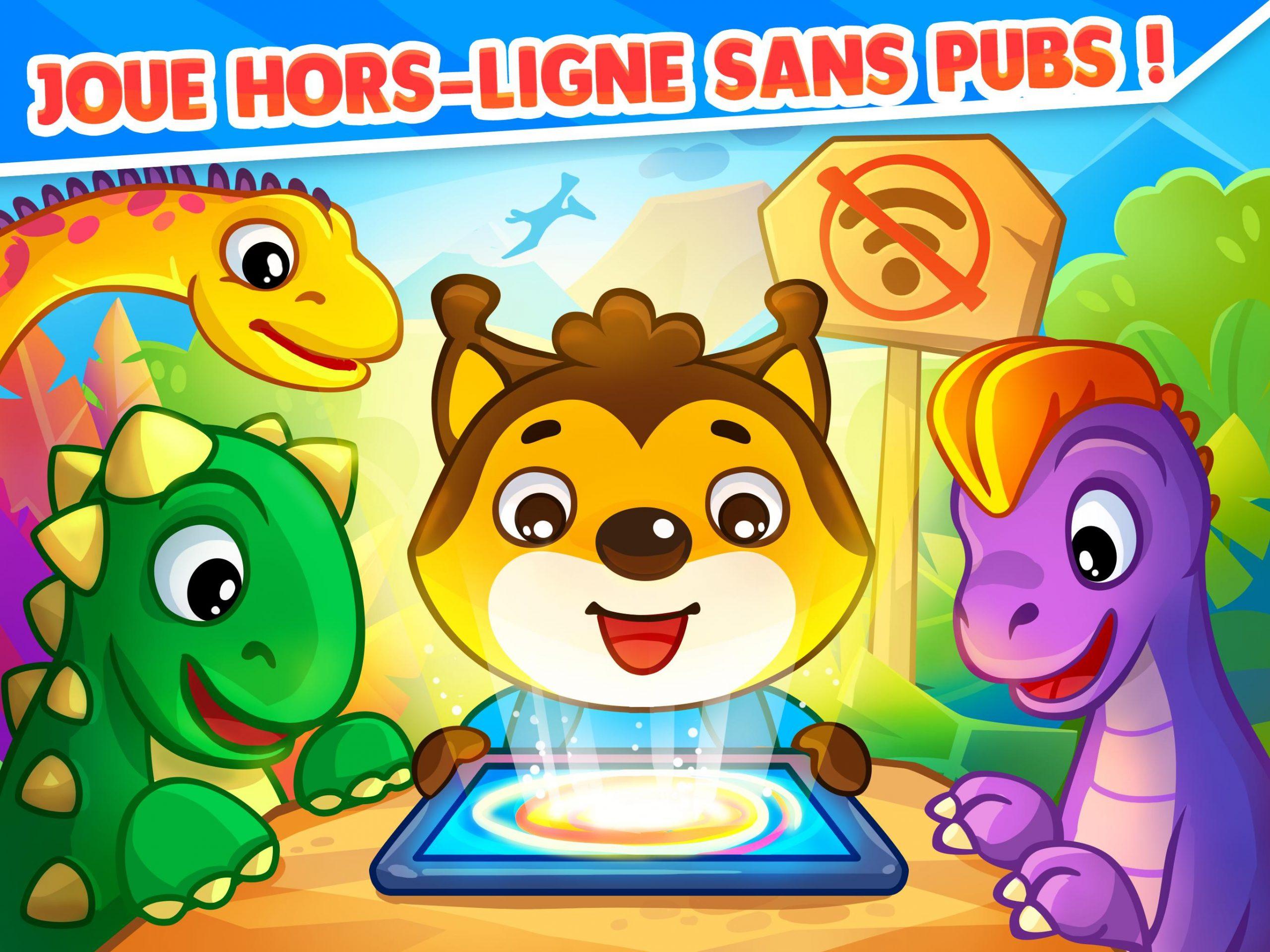 Jeu De Dinosaures Pour Tout-Petits Bébés Pour Android tout Jeux Pour Tout Petit