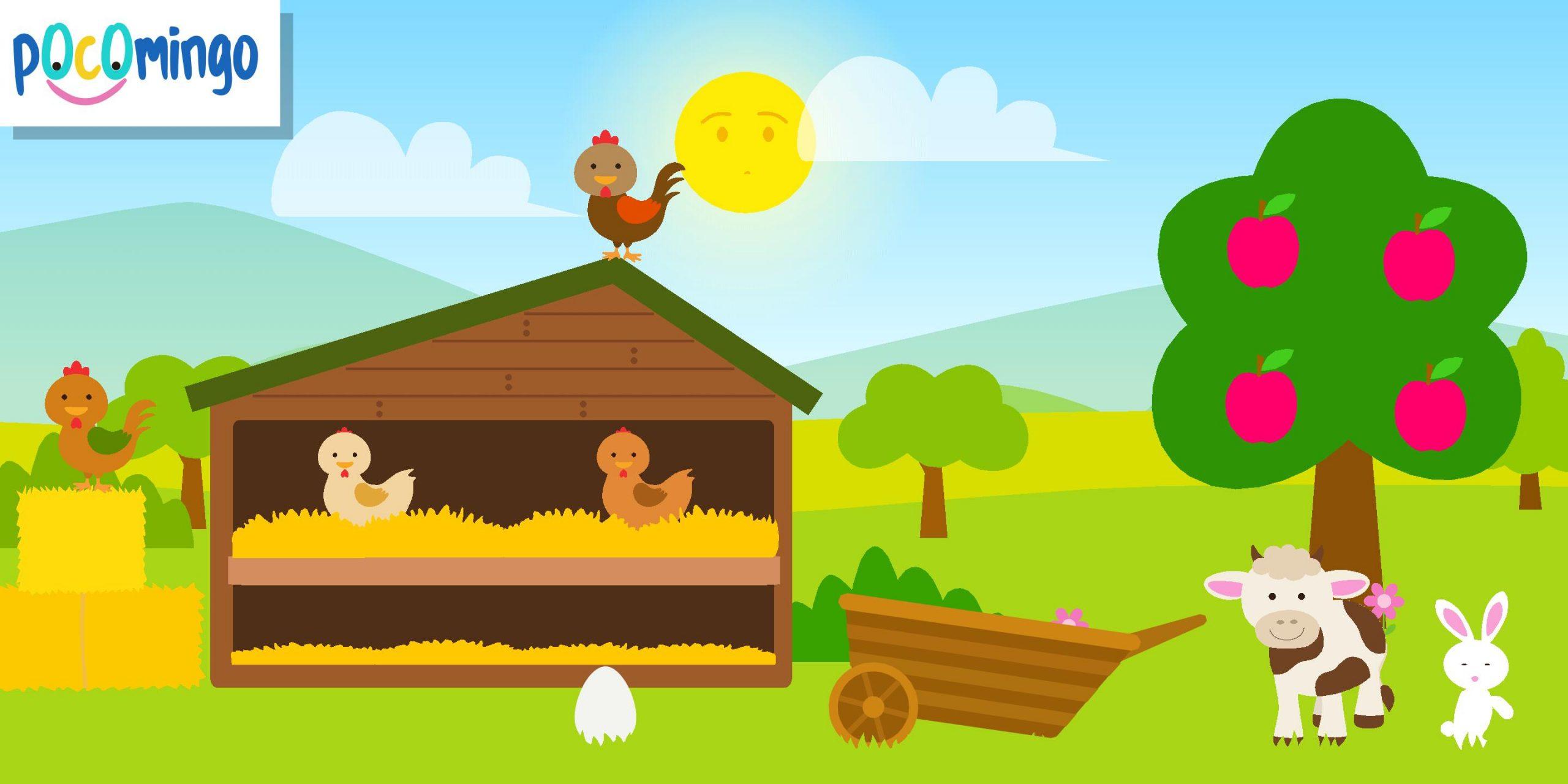 Jeu De Ferme Pour Enfants - Poco Pour Android - Téléchargez encequiconcerne Jeux Les Animaux De La Ferme