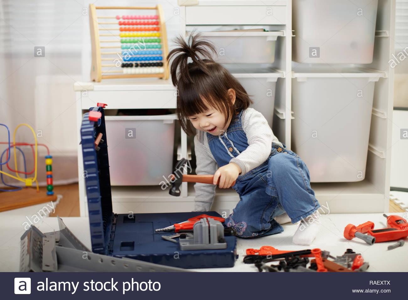 Jeu De Fille De Bébé Tout-Petits Outils De Bricolage Banque à Recherche De Jeux De Fille