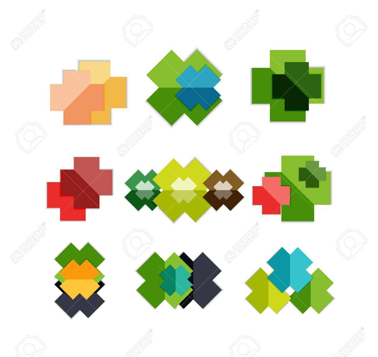 Jeu De Formes Géométriques Transversales - Symboles | Modèles Pour Le Fond  D'affaires | Bannières Numérotées | Secteurs D'activité | Site Web destiné Jeu De Forme Géométrique