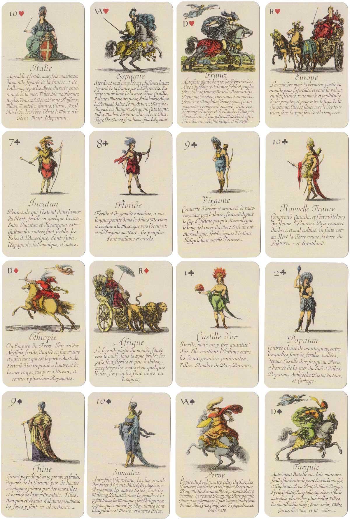 Jeu De La Géographie - The World Of Playing Cards dedans Jeu Geographie Ville De France