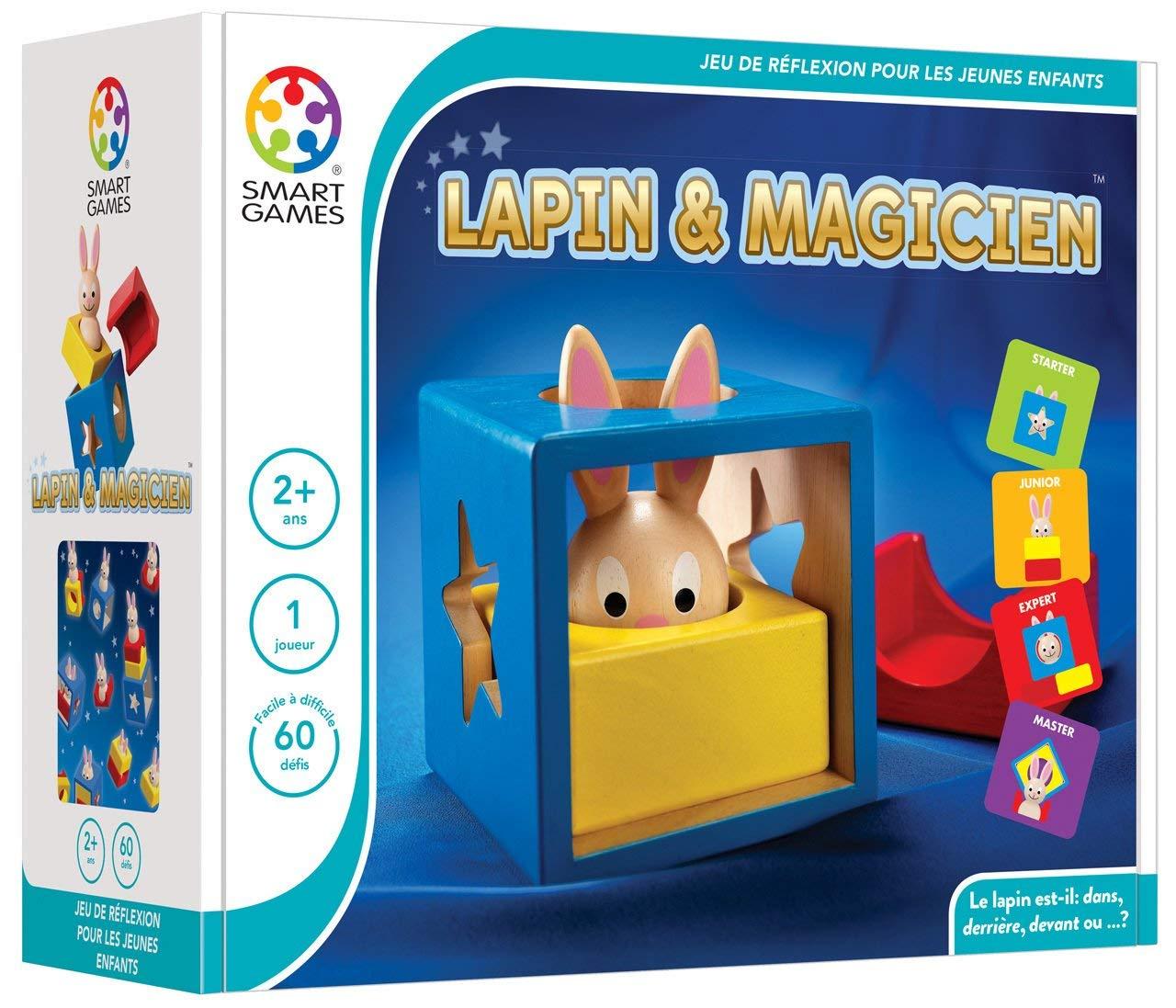 Jeu De Logique - Lapin Magicien avec Jeu Logique Enfant