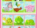 Jeu De Loto À Imprimer Pour Les Enfants | Loto Enfant tout Apprendre Les Animaux Jeux Éducatifs
