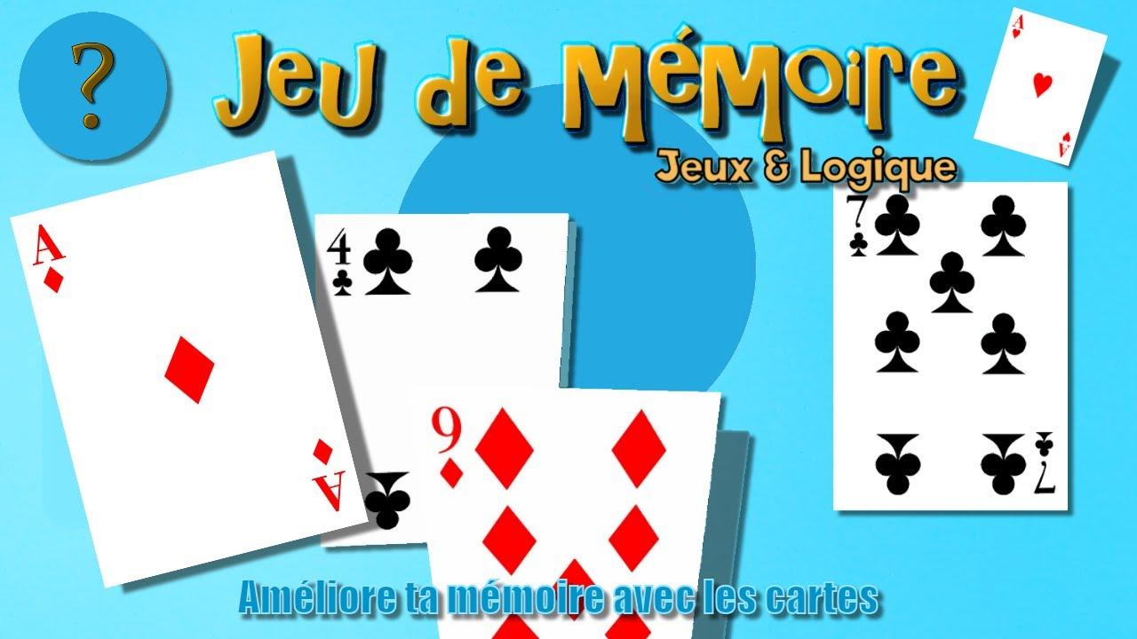 Jeu De Mémoire | Améliore Ta Mémoire Avec Les Cartes | Jeu Gratuit | Jeux &  Logique intérieur Je De Logique