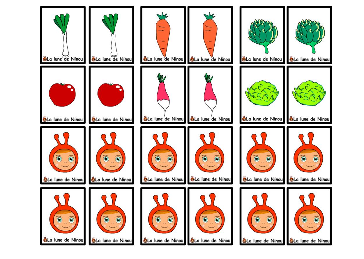 Jeu De Memoire Cartes Identiques - Memory - Jeux Pour pour Jeux Memoire Enfant