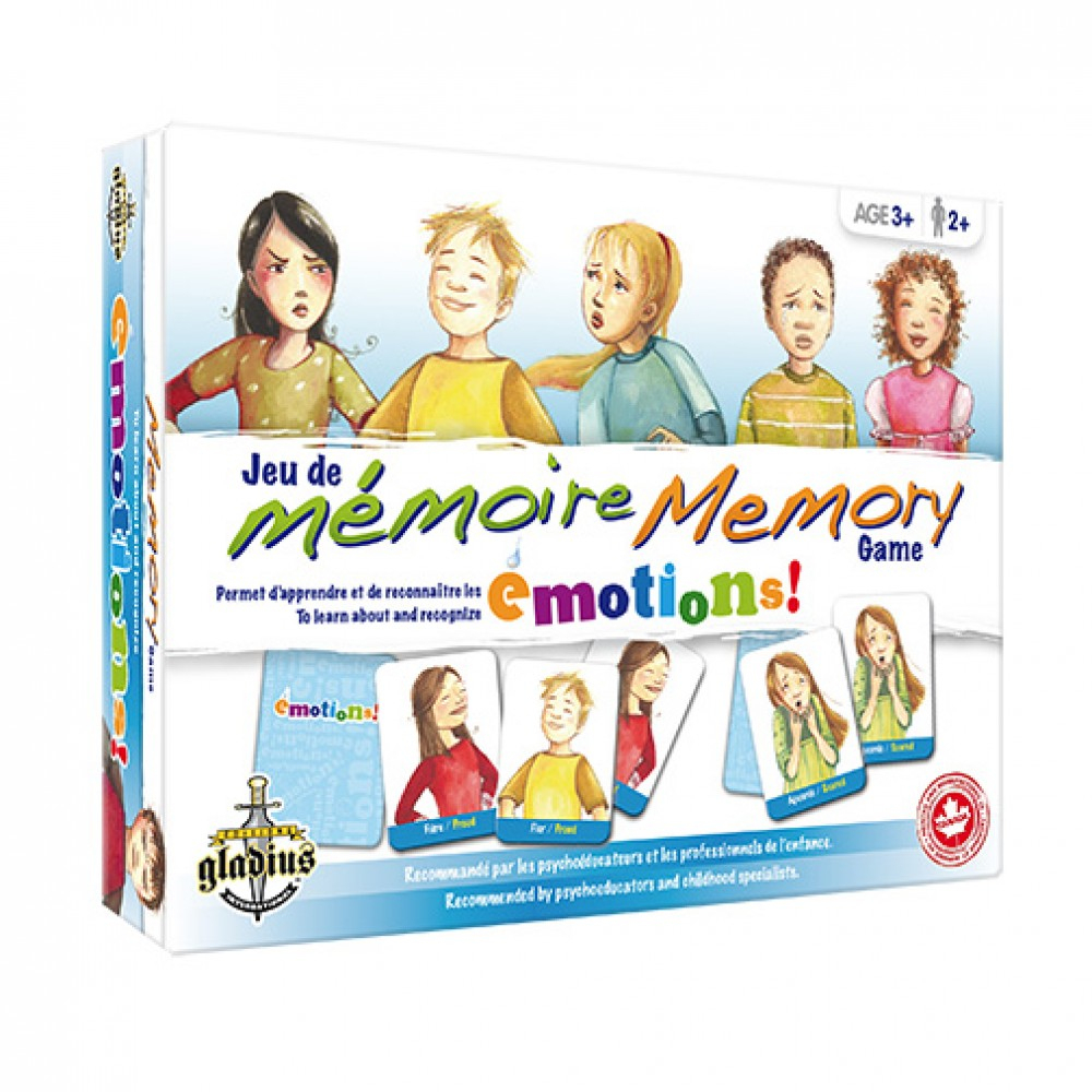 Jeu De Mémoire - Émotions De Éditions Gladius - Poupons dedans Jeux De Memory Pour Enfants